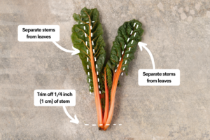 How to Wash Swiss Chard