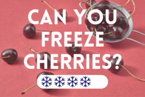 Can You Freeze Cherries?
