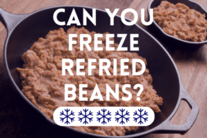 Can You Freeze Refried Beans?